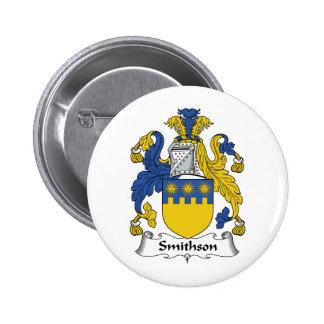 Escudo de la familia de Smithson Pin