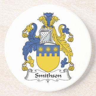 Escudo de la familia de Smithson Posavaso Para Bebida
