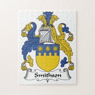 Escudo de la familia de Smithson Rompecabeza