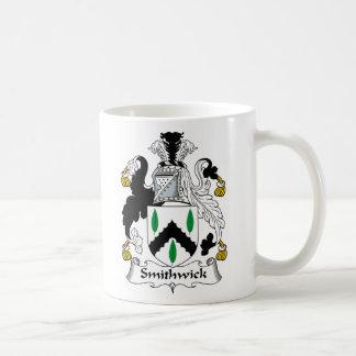 Escudo de la familia de Smithwick Taza
