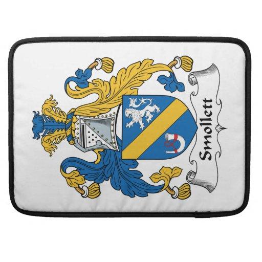 Escudo de la familia de Smollett Funda Para Macbooks