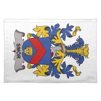 Escudo de la familia de Smor Mantel Individual