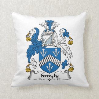 Escudo de la familia de Smyly Almohadas