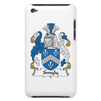 Escudo de la familia de Smyly Barely There iPod Protectores