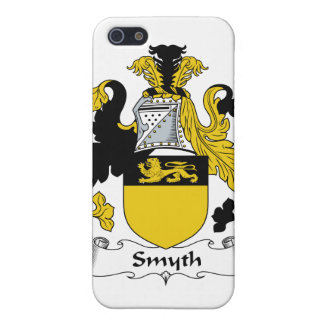 Escudo de la familia de Smyth iPhone 5 Cárcasas