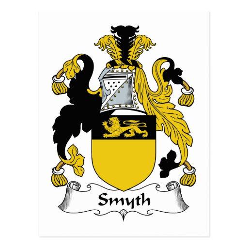 Escudo de la familia de Smyth Postales