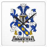 Escudo de la familia de Smyth Relojes