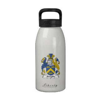 Escudo de la familia de Smythe Botella De Agua