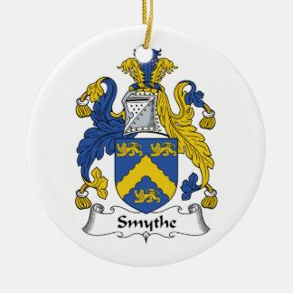 Escudo de la familia de Smythe Ornaments Para Arbol De Navidad