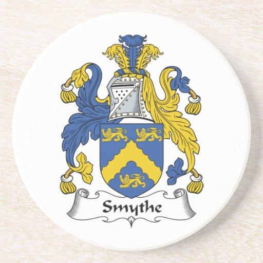 Escudo de la familia de Smythe Posavasos Personalizados
