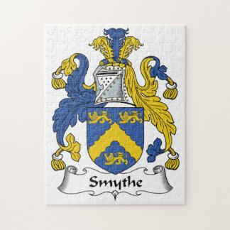 Escudo de la familia de Smythe Puzzle Con Fotos