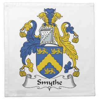 Escudo de la familia de Smythe Servilleta De Papel