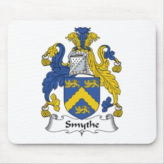 Escudo de la familia de Smythe Tapete De Ratón