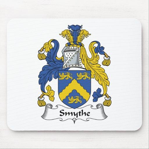 Escudo de la familia de Smythe Alfombrillas De Raton