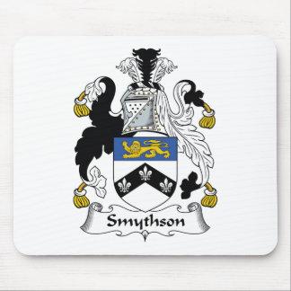 Escudo de la familia de Smythson Alfombrillas De Raton