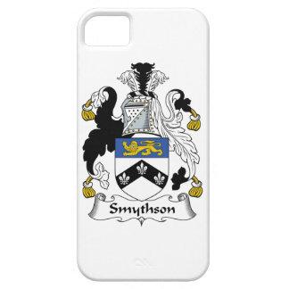 Escudo de la familia de Smythson iPhone 5 Funda