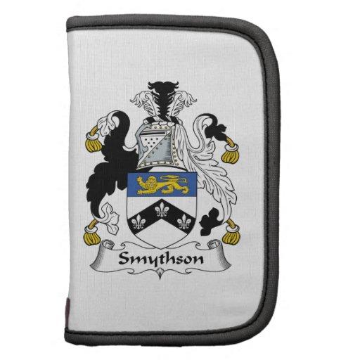 Escudo de la familia de Smythson Organizadores