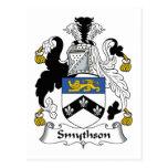 Escudo de la familia de Smythson Postales
