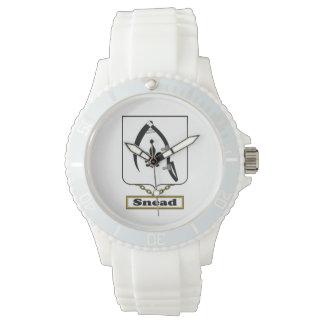 Escudo de la familia de Snead Relojes De Mano