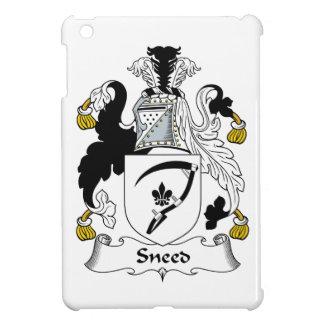Escudo de la familia de Sneed iPad Mini Funda