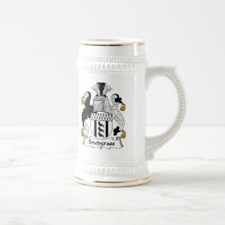 Escudo de la familia de Snodgrass Jarra De Cerveza