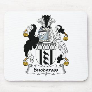Escudo de la familia de Snodgrass Tapetes De Ratones