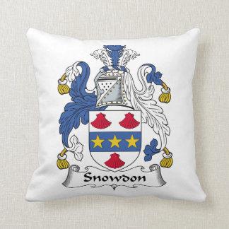 Escudo de la familia de Snowdon Cojin