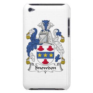 Escudo de la familia de Snowdon iPod Case-Mate Cárcasas