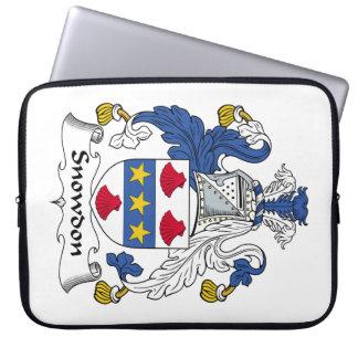 Escudo de la familia de Snowdon Fundas Ordendadores