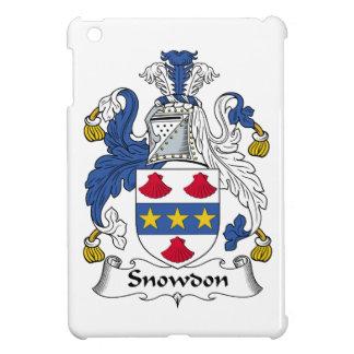 Escudo de la familia de Snowdon iPad Mini Cobertura