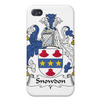 Escudo de la familia de Snowdon iPhone 4/4S Funda