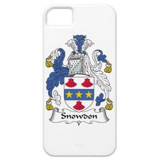 Escudo de la familia de Snowdon iPhone 5 Cárcasas