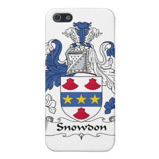 Escudo de la familia de Snowdon iPhone 5 Protector