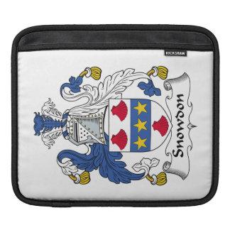 Escudo de la familia de Snowdon Manga De iPad