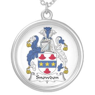 Escudo de la familia de Snowdon Pendiente