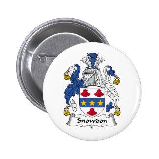 Escudo de la familia de Snowdon Pin
