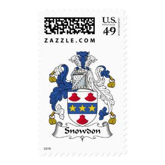 Escudo de la familia de Snowdon