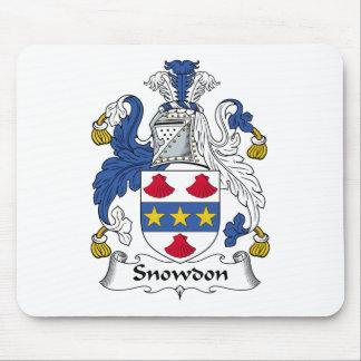 Escudo de la familia de Snowdon Alfombrilla De Raton
