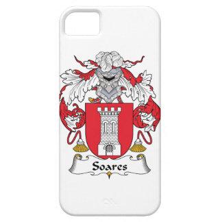 Escudo de la familia de Soares iPhone 5 Carcasas