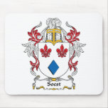 Escudo de la familia de Soest Alfombrillas De Raton