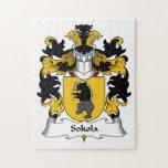 Escudo de la familia de Sokola Puzzle Con Fotos