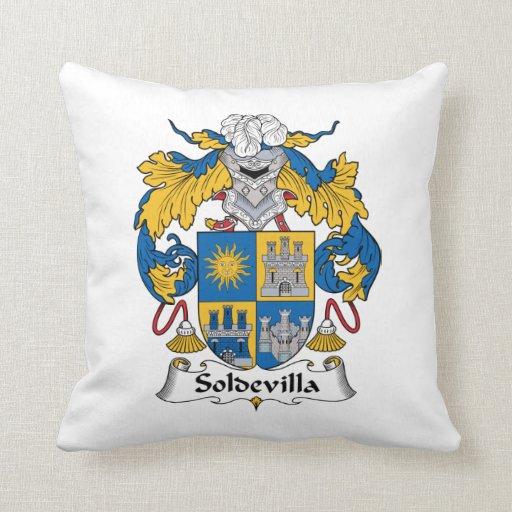 Escudo de la familia de Soldevilla Almohadas