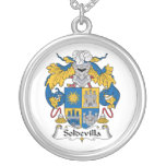 Escudo de la familia de Soldevilla Pendientes