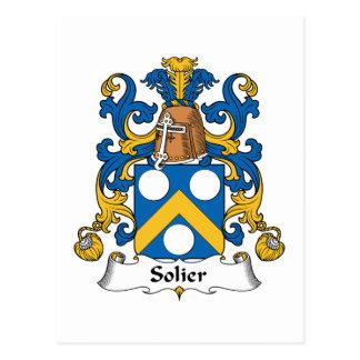 Escudo de la familia de Solier Postales
