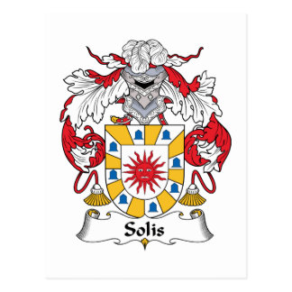Escudo de la familia de Solis Postales