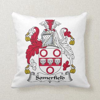 Escudo de la familia de Somerfield Cojines
