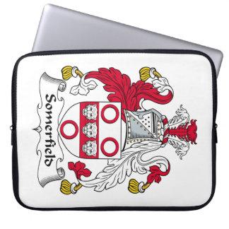 Escudo de la familia de Somerfield Funda Portátil