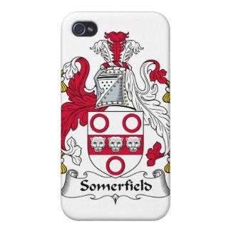 Escudo de la familia de Somerfield iPhone 4 Funda