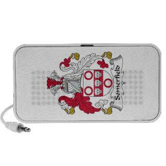 Escudo de la familia de Somerfield iPod Altavoces