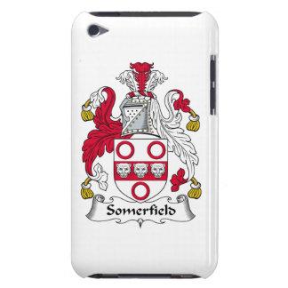Escudo de la familia de Somerfield iPod Case-Mate Protector